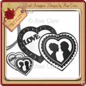 307 Double Heart Card *Multiple MACHINE Formats*