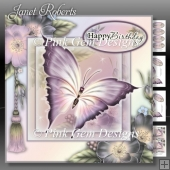 Purple Butterfly Mini Kit