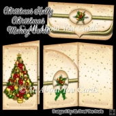 Christmas Holly Money Card