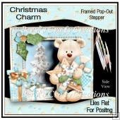 Christmas Charm Framed Pop-Out Stepper