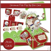 Christmas Pals Pop Up Box Card