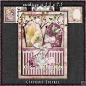 Vintage Tags Topper Card Kit 1166