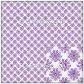 Floral Lilac Backing Paper