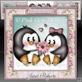 Valentine Penguins Mini Kit