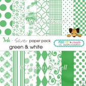 Ink-Saver Paper Pack - Green