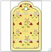 Hearts and Flowers Tag