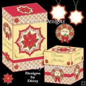 Poinsettia Gift Boxes