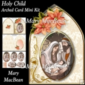 Holy Child - Arched Card Mini Kit