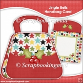 Jingle Bells Handbag Card & Envelope
