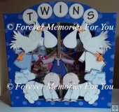 Twins Back To Front Card Kit Print & Cut