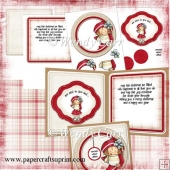 RTP Large Circle Front Card - Warm Cocoa(Retiring in August)