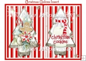 Christmas Cookies Card Insert