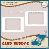 Card Box Template to Fit a 5x7 inch Card � CU/PU