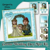 Gnome Wedding Day Card Kit