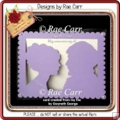 305 Romantic Boy & Girl Card Multiple MACHINE Format