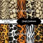 "10 12""x12"" Digital Animal Skin Papers"