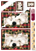 Our Family Pure Westie Forty Winks Large Wavy Stacker