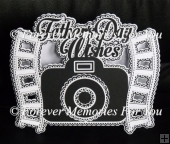 Father's Day Camera Card, Silhouette Cameo, Curio, Portrait