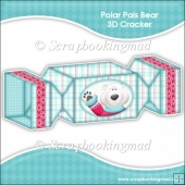 Polar Pals Bear 3D Cracker Gift Box