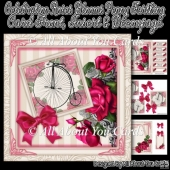 Celebration Roses Blooms Penny Farthing