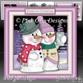 Smile its Christmas Pink Mini Kit