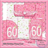 60th Birthday Money Card