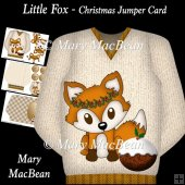 Little Fox - Christmas Jumper Card