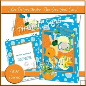 Like To Be Under The Sea Box Card