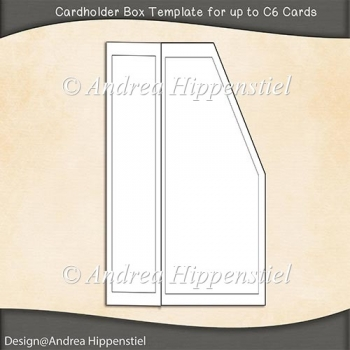 Cardholder Box Template