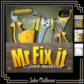 Mr Fix It 8x8 Decoupage Mini Kit