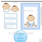 Baby Boy Card Front