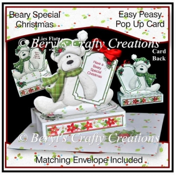 Easy Peasy Pop Up Card - Beary Special Christmas