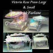 VICTORIA ROSE PRAMS LARGE AND SMALL