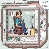 ONLINE GAMER 7.5 Decoupage, Ages & Insert Kit