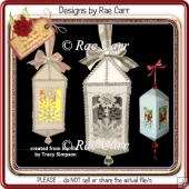 634 Christmas Lantern *Multiple MACHINE Formats*