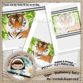 Tiger - Stationery Set 1