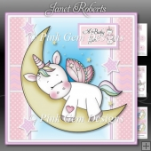 Sleeping Unicorn Mini Kit New Baby or Birthday with Ages 1 to 4