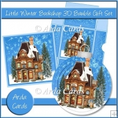 Little Winter Bookshop 3D Bauble Gift Set
