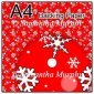 ref1_bp666 - Red Snowflakes Dots