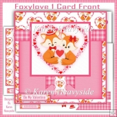 Foxylove 1 Card Front