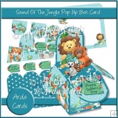Sound Of The Jungle Pop Up Box Card