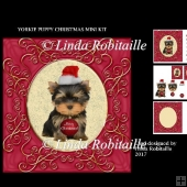 Yorkie Puppy Christmas Mini Kit