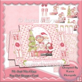 Mr And Mrs Claus Pop Out Stepper Card