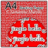 ref1_bp660 - Red Christmas Jingle Bells
