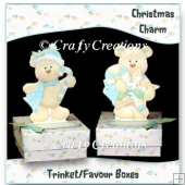 Christmas Charm Trinket/Favour Boxes