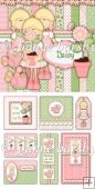 Daisy Girl Floral Card Making Kit