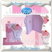 So Sweet - Shaped Card
