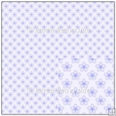 Lilac Floral Backing Paper