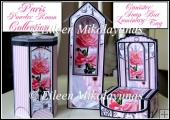 Paris Powder Room Gift Set 4 Projects with Directions