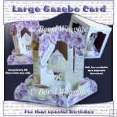 Time For Tea Large Gazebo Card